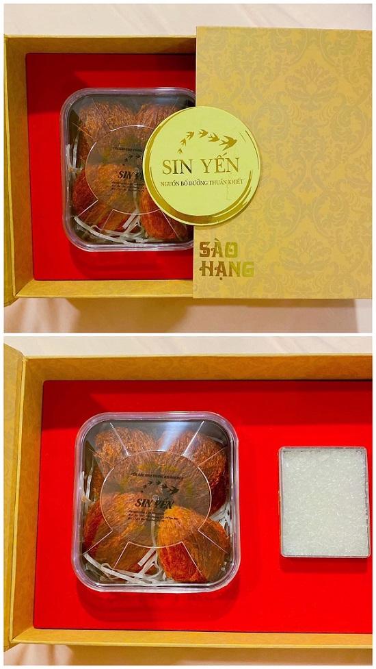 Bộ sản phẩm  huyết yến quý giá và bổ dưỡng hiện đang có mặt tại thương hiệu Sin Yến.
